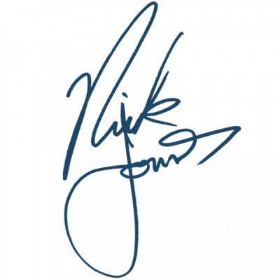 signature de nick jonas brothers