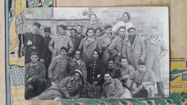Citation d'un Francs-tireurs et Partisans Fran�ais + photo  ( don de Raynalde Bouchard )