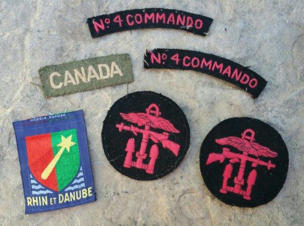 Insignes WW2  ( sortie de vide grenier ).