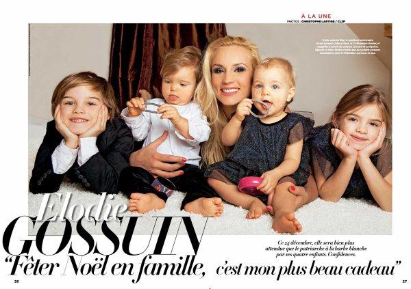 Post le mercredi 24 d cembre 2014 02 08 miss france 2016 - Elodie gossuin et ses enfants ...