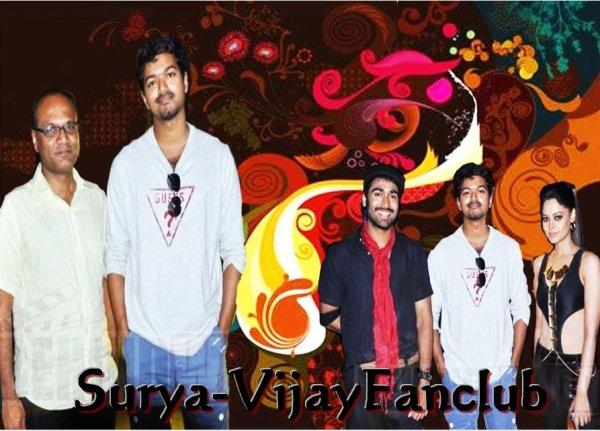 Vijay At Sattam Oru Irrutarai Shooting