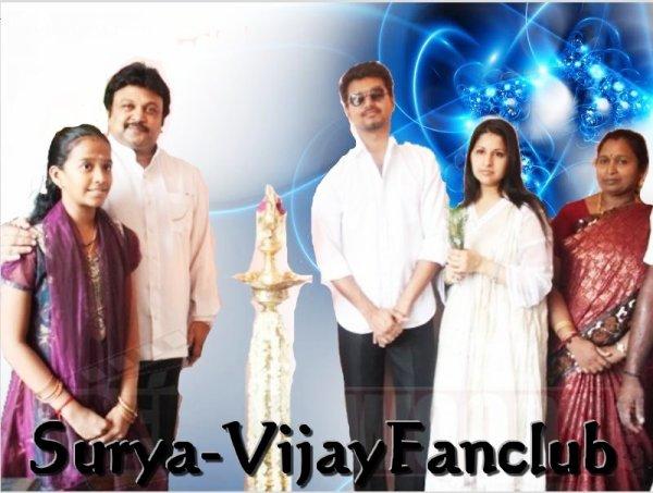 Vijay Launches Appa Family Restaurant