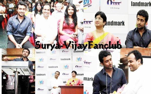 Surya Launches Vedic Chants & Meditation CD