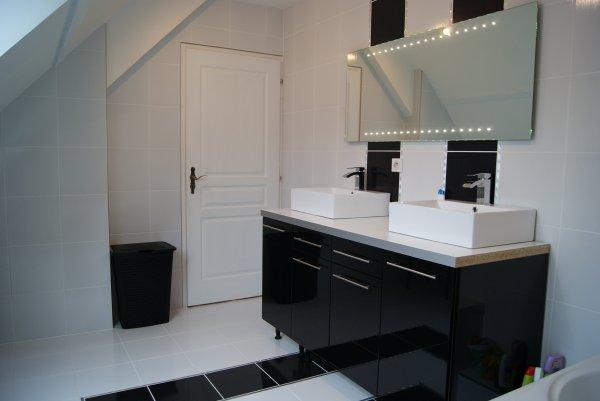 Meuble cuisine et salle de bain - Meuble de salle de bain avec meuble de cuisine ...