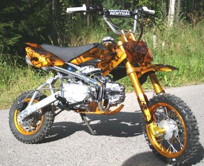 dirt bike 110cc car nage tuning le macano du 13. Black Bedroom Furniture Sets. Home Design Ideas