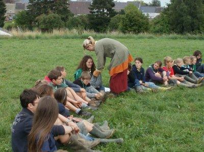 week-end animation au Camp du Patro St Feuillen