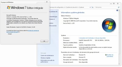Le SP1 de Windows 7