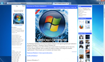 D�couvrir Internet Explorer 9