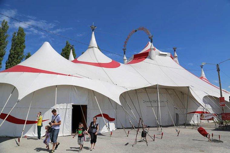 Arlette Gruss > Une journee au cirque