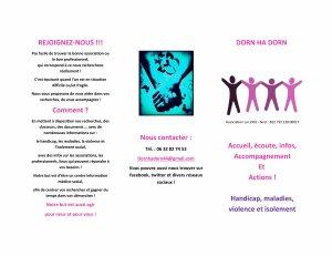 Brochure de l'association