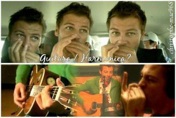 Harmonica ou guitare - Christophe Mau00e9