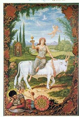 Taureau (Taurus), du 21 avril au 20 mai « C'est la solidité, le réalisme jusqu'au matérialisme la raison jusqu'à l'insensibilité, l'égocentrisme jusqu'à l'égoïsme. »