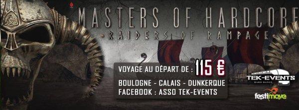 Bus pour Masters Of Hardcore - 26 mars 2016