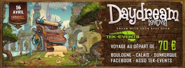 Bus pour Daydream festival - 16 avril 2016