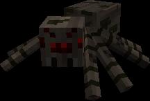 Les Monstres : Creeper , Araignée , Squelete , Araignée/Squelette .