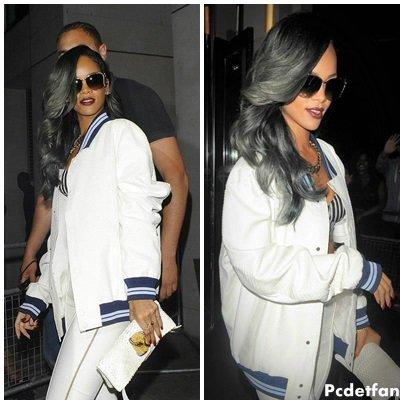 Le 19/07/13: Rihanna � Londres