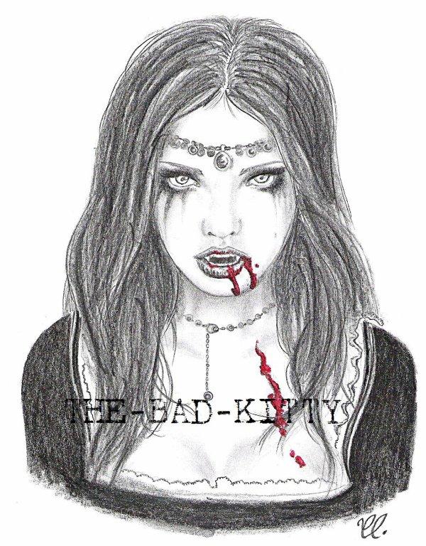 N 31 like a vampire the bad kitty se met au dessin - Dessins de vampires ...