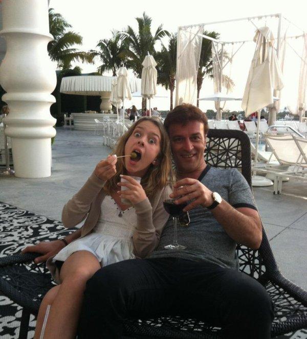 Tony Carreira com Sara em Miami - Blog TmCarreira