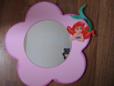 miroir fleur arielle