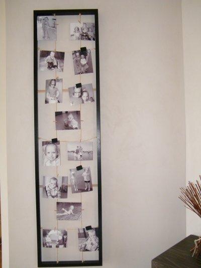 cadre photo fait maison. Black Bedroom Furniture Sets. Home Design Ideas