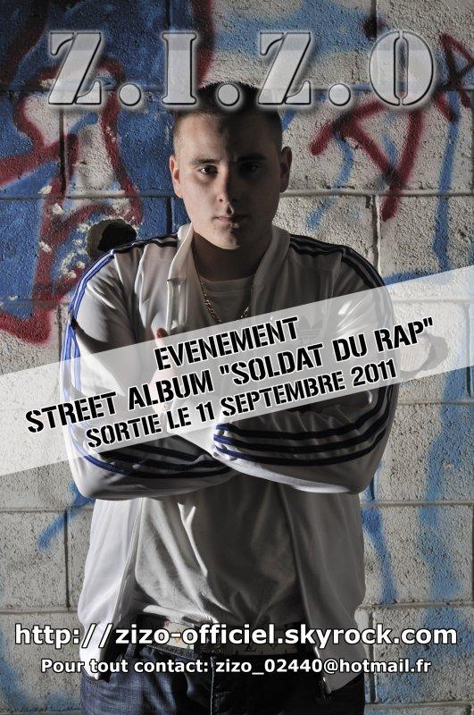 EVENEMENT : SORTIE DU STREET ALBUM LE 11 SEPTEMBRE 2011