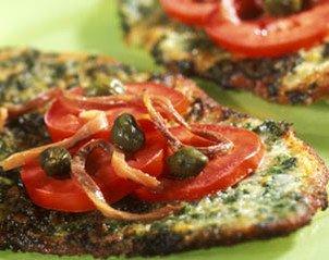 Escalopes de veau au persil, aux tomates et aux c�pres