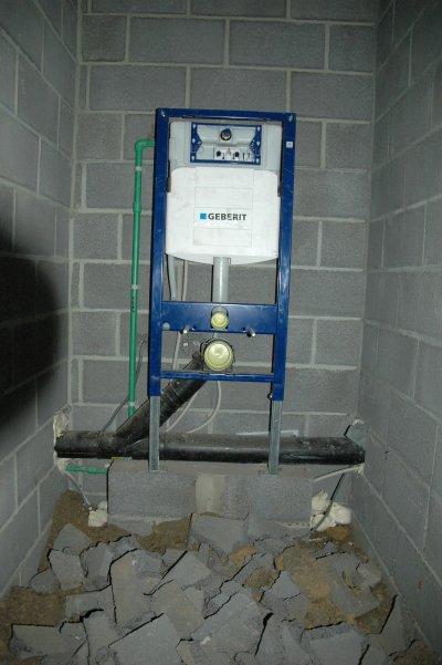 Les wc suspendus et encastr s geberit blog de sanichauffageserviceplus - Installation wc suspendu geberit video ...