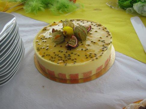 mousse passion palet g�lifi� mangue ananas