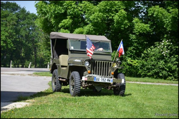 comm�moration 7 Juin 2014 � Vercel les jeep 3