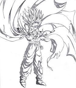Sangohan naruto et dragon ball z - Dessin de sangohan ...