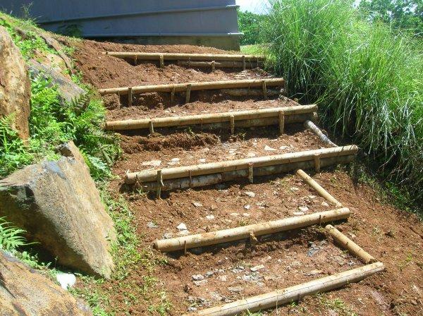 confection d 39 escalier en rondin de bois blog de