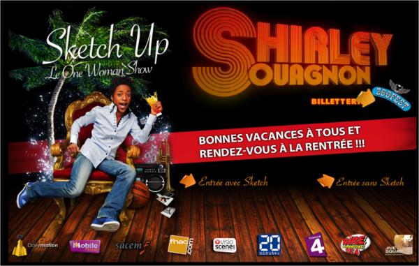 Changement de d�cor pour le site de Shirley Souagnon