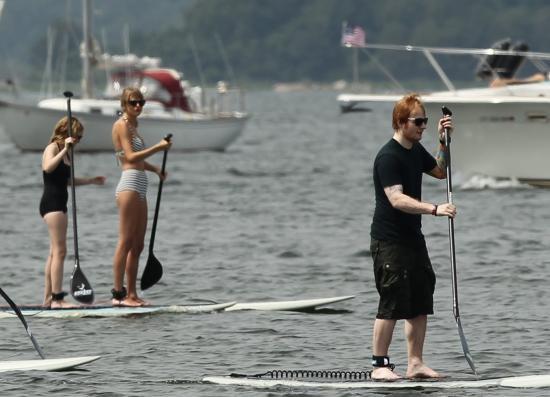 Candids : Ed à Rhode Island