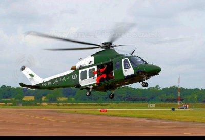 HELICOPTER DE LA GENDARMERIE NATIONAL ALGERIEN