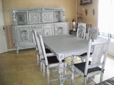 Salle manger moderne salle manger modernes - Restaurer une chaise ...