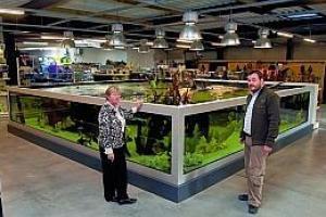 aquarium de 40000litres aqua garden center