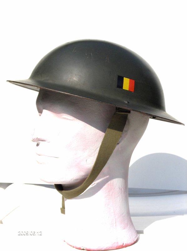 1. BELGIQUE - Le premier casque de ma collection! Le Mod�le 49