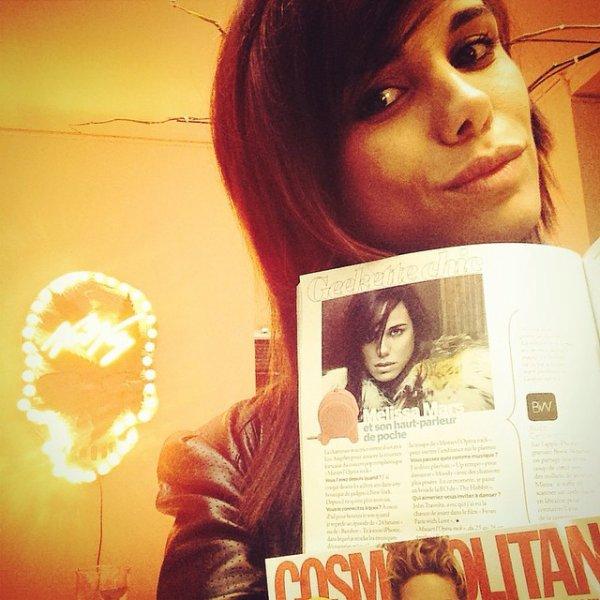 2014 October 08 - Melissa Mars en Geekette Chic pour Cosmopolitan