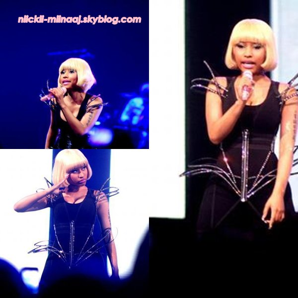 NICKI MINAJ > Femme Fatale Tour With Britney Spears > July 13 - Houston, TX
