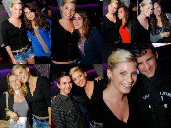 23 Septembre: Nad�ge au Vegas Pub avec Thomas, Fanny & Julien ! Une partie s�ance d�dicace pour les mineurs et la partie soir�e !