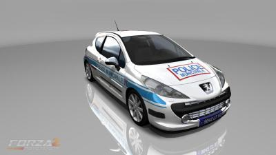peugeot 207 police municipale forza 2. Black Bedroom Furniture Sets. Home Design Ideas
