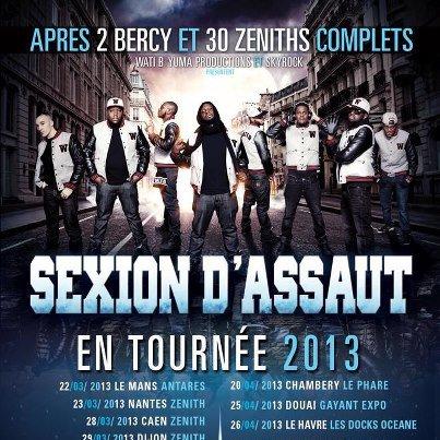 Tournée 2013.