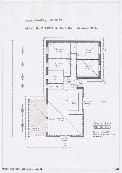 Plan maison l 39 histoire de notre maison for Plan d une belle maison