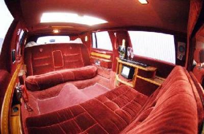 Interieur lincoln limousine les plus belles limousines for Interieur limousine