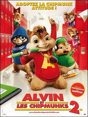 ♦ ALVIN ET LES CHIPMUNKS 2