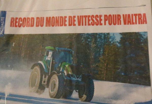 Record du monde de vitesse en tracteur blog de agrigolf68 - Record du monde developpe couche ...