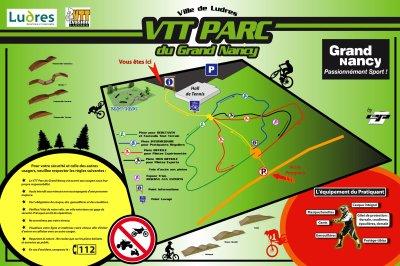 VTT PARC DE LUDRES  JANVIER 2010
