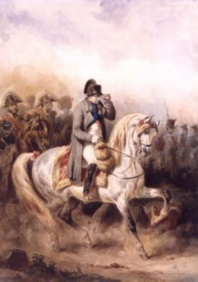 Napoleon a cheval napoleon 1er for Napoleon horse painting