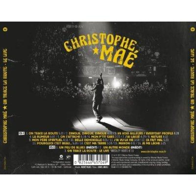 """NOUVEAUTEE : C.D/DVD """"ON LA ROUTE - LE LIVE"""""""