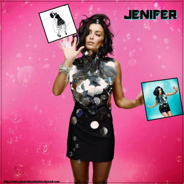 "JENIFER SINGLE ""SUR LE FIL""."